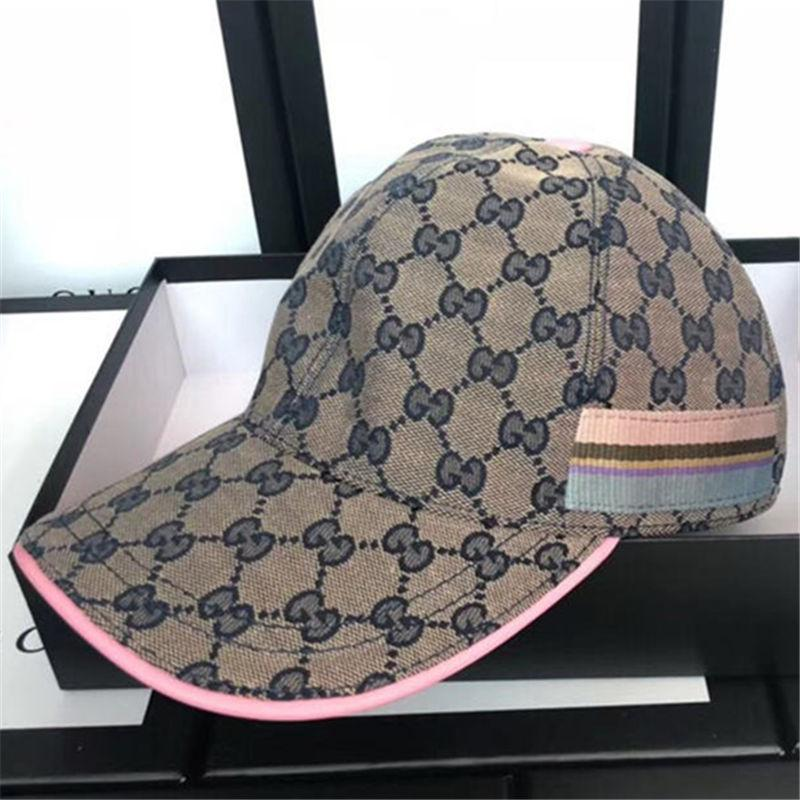 55254147511 2019 Fashion Classic Baseball Caps With Box Tide Luxury Casual Grey ...
