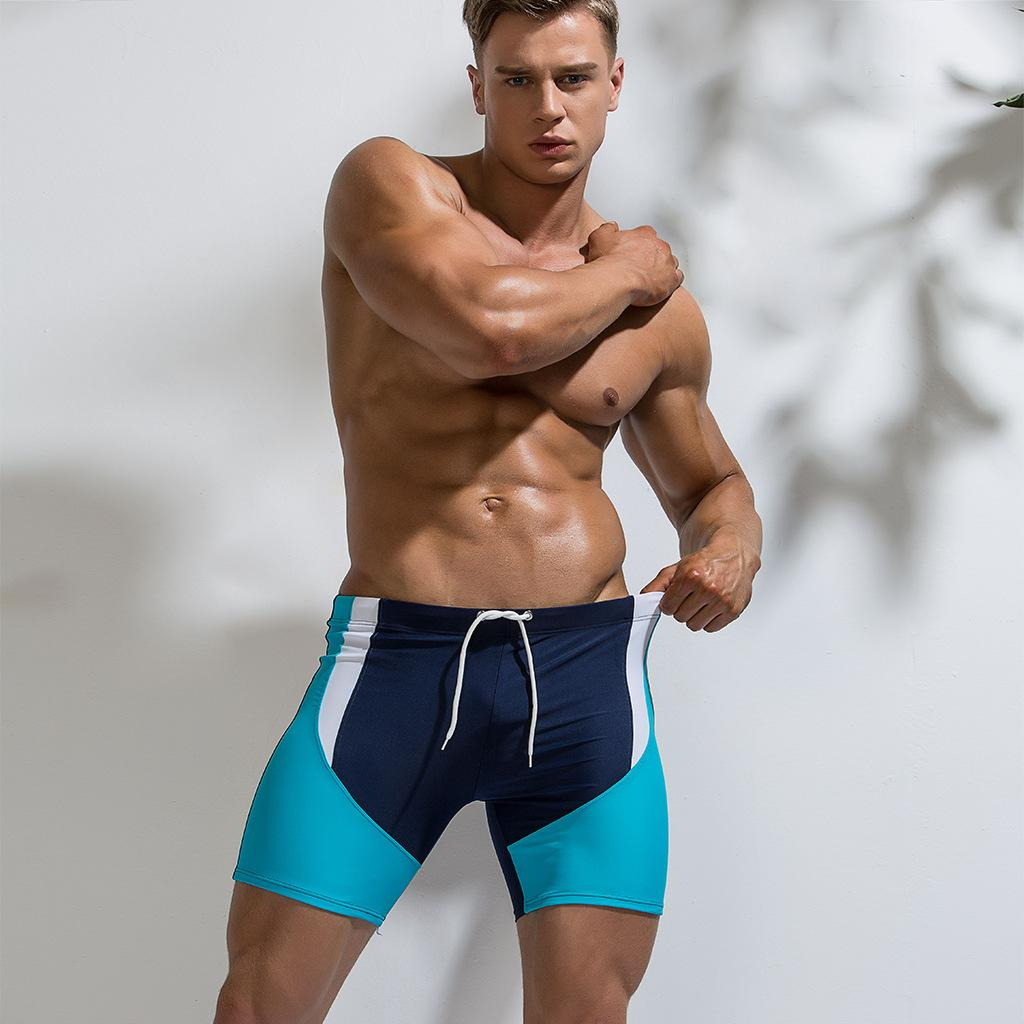 2e82f1d3ea Men's Swimming Pants Quick-drying Tight Nylon Elastic Hot Spring Swimming  Pants Swimsuit Boy Mens Swim Briefs Men Swimwear