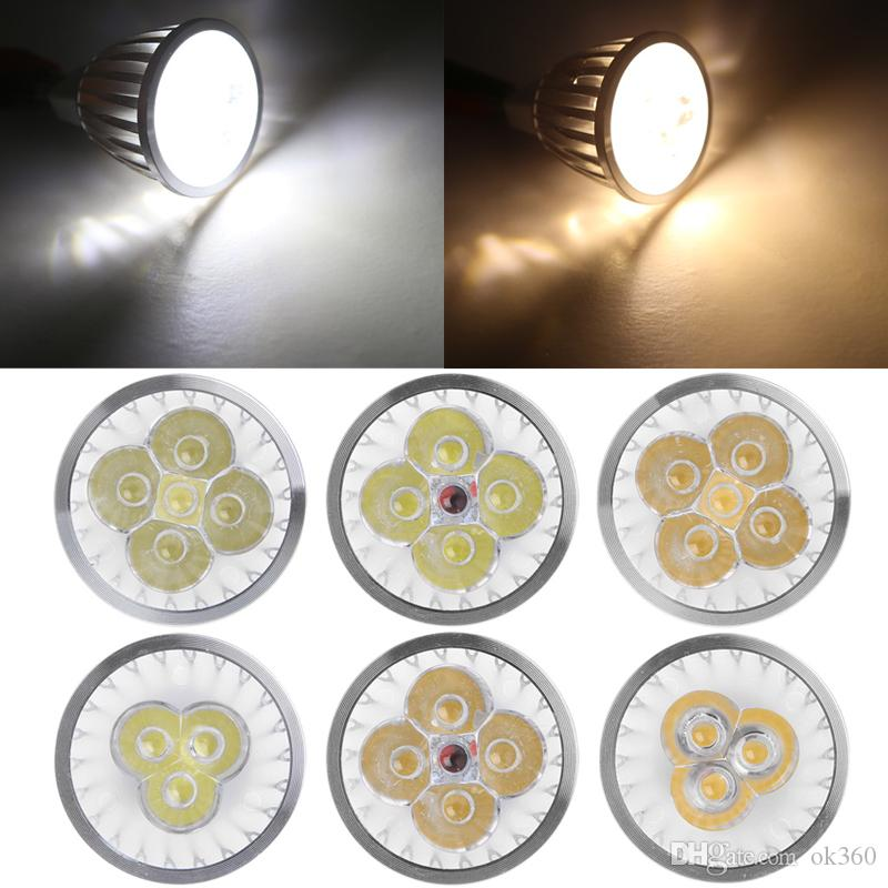 3W 4W 5W 6W Dimmable Led Spot Light Dimmable GU10 E27 E14 B22 MR16 GU5.3 Energy Saving LED Bulb Lamp Downlight Lighting