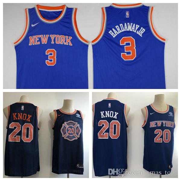 78740ebe3aee tim hardaway jr knicks shirt 2019 New Mens 3 Tim Hardaway Jr New York  Jerseys Knicks Basketball .