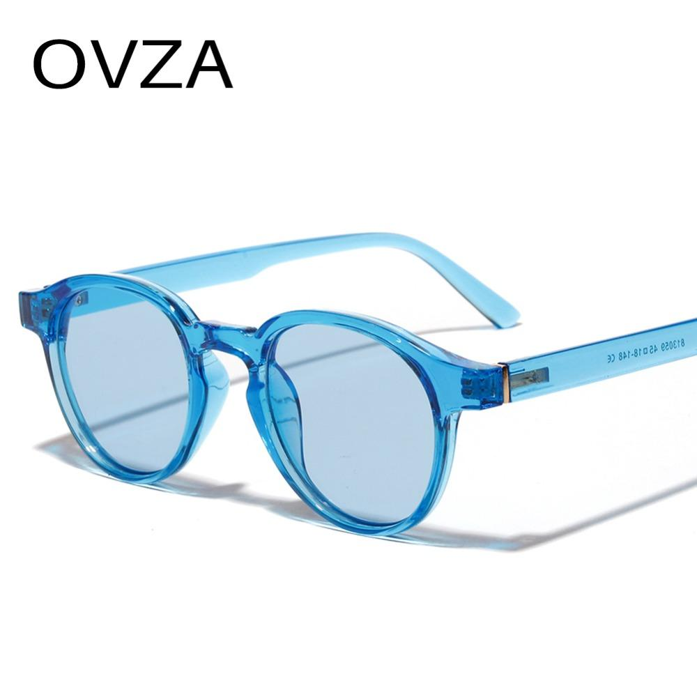 e69ffffbf90 OVZA 2019 New Oval Brand Designer Sunglasses Women Men Fashion ...