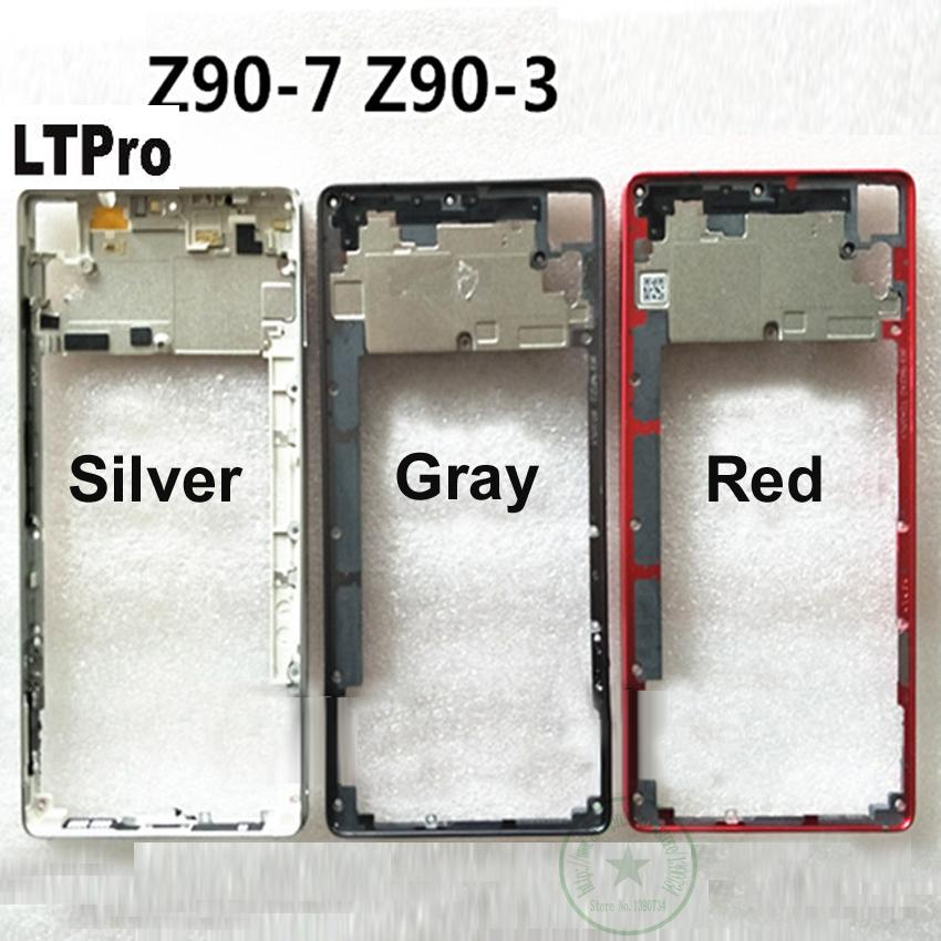LTPro Best Quality For Lenovo VIBE Shot Z90 Z90-7 Z90-3 Middle Frame Mid  Housing Bezel z90a40 z90-a z90a Replacement Parts