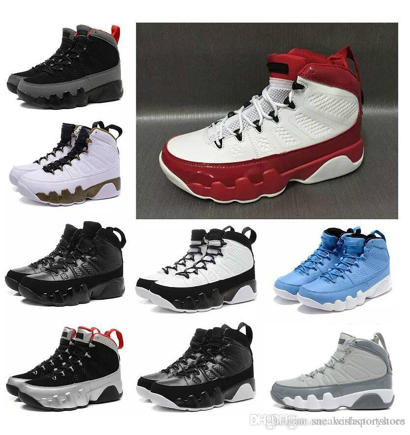 d0000e26ffe1 2018 Men Basketball Shoes 9 Cool Grey Black White Red Anthracite Barons The  Spirit Doernbecher Release Sneakers Boots Size 8 13 Sneakers For Women Shoes  ...