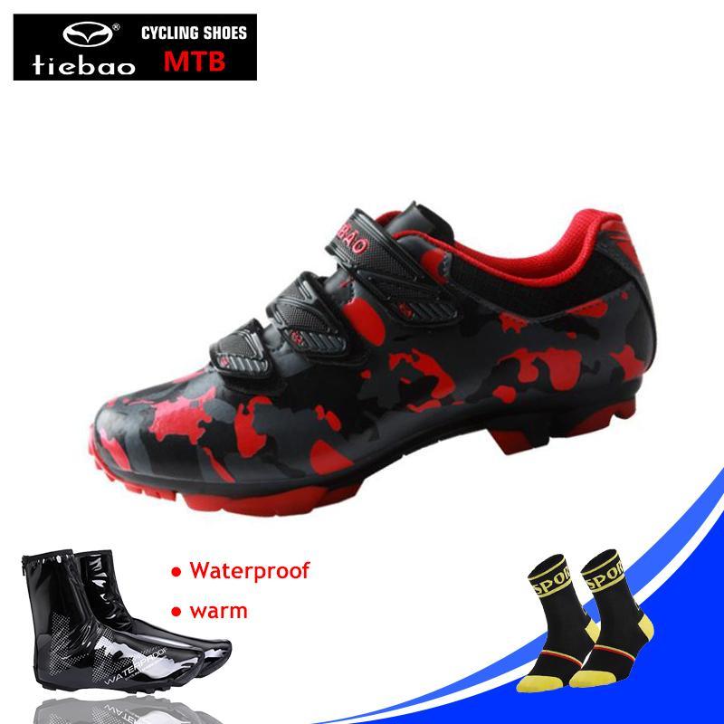 <b>TIEBAO</b> Мужчины Женщины <b>MTB</b> Велоспорт обувь <b>Sapatilha</b> ...