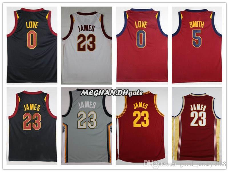 the latest 84030 c2187 2018 Cleveland 23 LeBron James Jerseys Men The Land City Edition Basketball  0 Kevin Love 5 Jr Smith CLE Cavaliers Playoffs Jersey