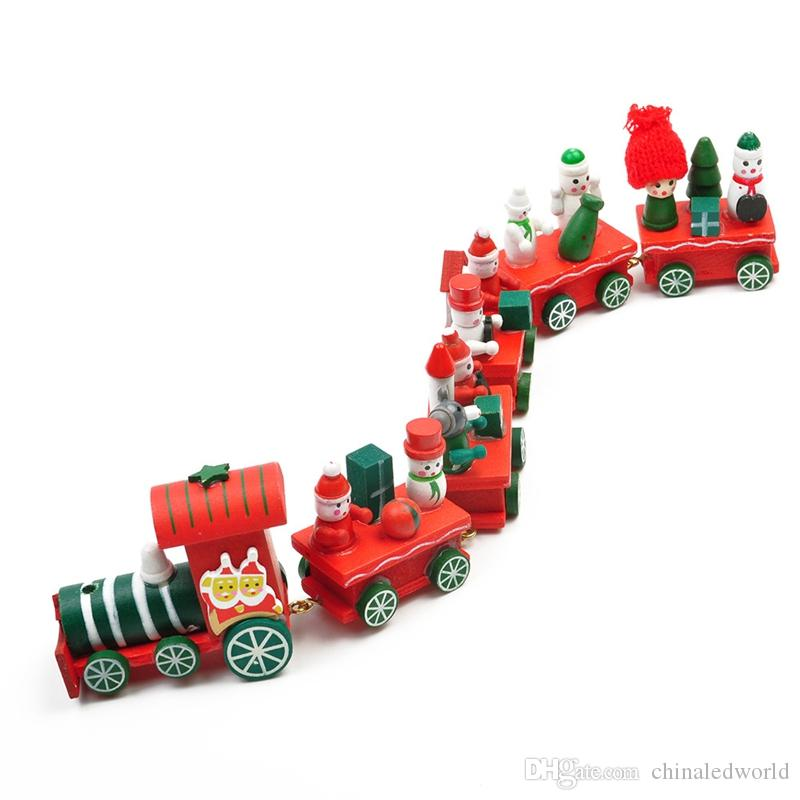 WS Hot New Lovely Charming Train Train Christmas Christmas Ornament Decoration Decor Gift