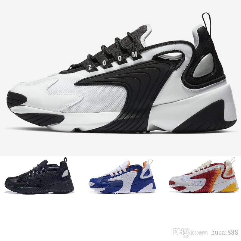 Nike air max zoom 2K off white jordan basketball slipper vepormax designer men shoesDamen Freizeitschuhe Cremeweiß Race Rot Königsblau Designer Sports
