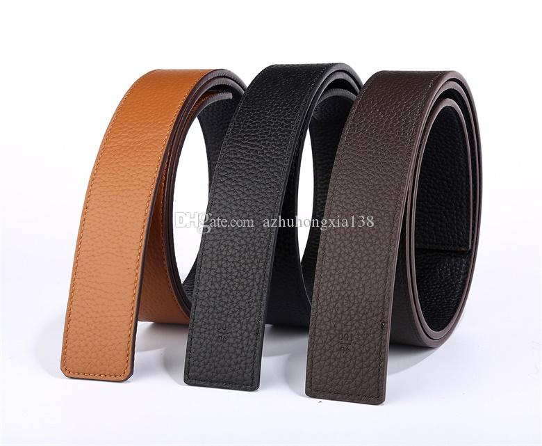 d5c611cf3472 For Men And Women Luxury Brand Leather Belt Design Pure Copper Belt ...