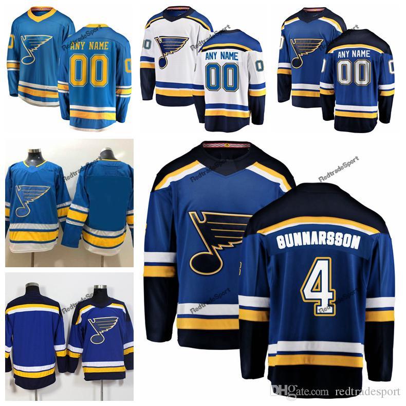 2019 New Alternate Baby Blue Custom Carl Gunnarsson St. Louis Blues Hockey  Jerseys Cheap 4 Carl Gunnarsson Navy Blue Stitched Shirts UK 2019 From ... 8a6606414