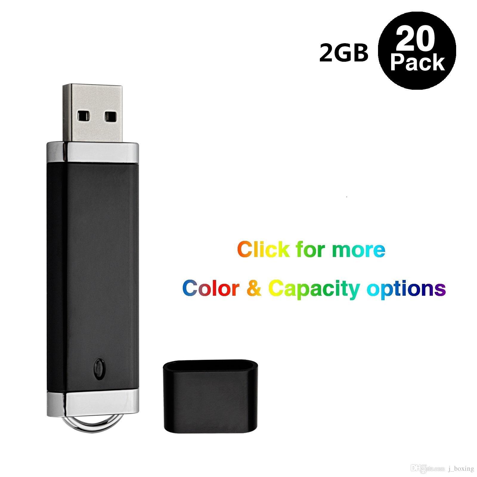 Bulk 5 Swivel Mix Color 1GB-64GB USB Flash Pen Drives Folding Thumb Memory Stick