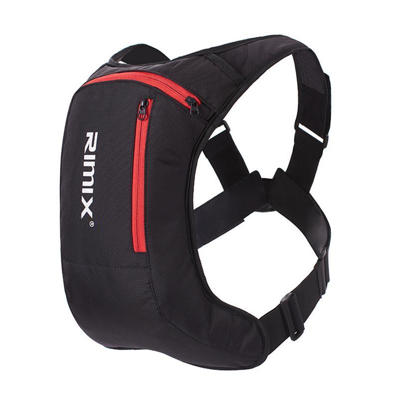 2cafe533563f Sports Backpack Headlight Riding Running Rechargeable Hydration Pack Bladder