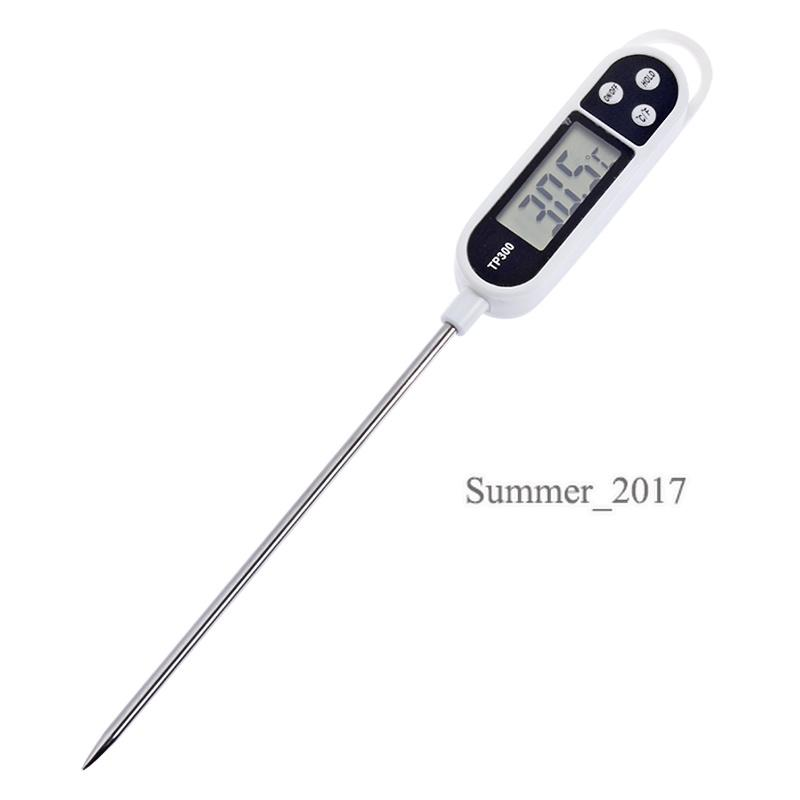 Hot Sale Digital Kitchen Thermometer For Meat Water Cooking Precision Food Probe BBQ Electronic Thermometer Kitchen Tools