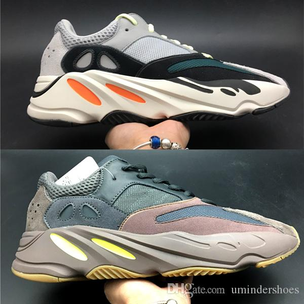 2019 Wholesale Wave Runner 700 Boosts Kanye West Shoes Static Reflect Mauve  Solid Grey Womens Mens Sneakers 700 Runner V2 Online Shopping From  Umindershoes 52f24db97
