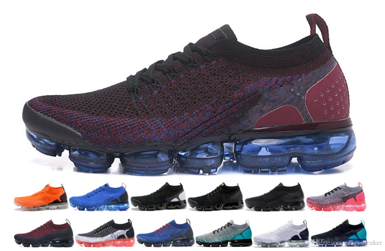 low priced 15473 8d89f closeout compre nike air max 2.0 vapormax 2018 v2 airmax off white flyknit  shoe zapatos deportivos