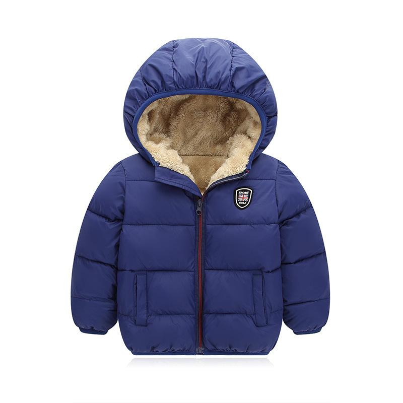 28db45068 New Winter Children S Down Cotton Clothes Boys Children S Thick ...