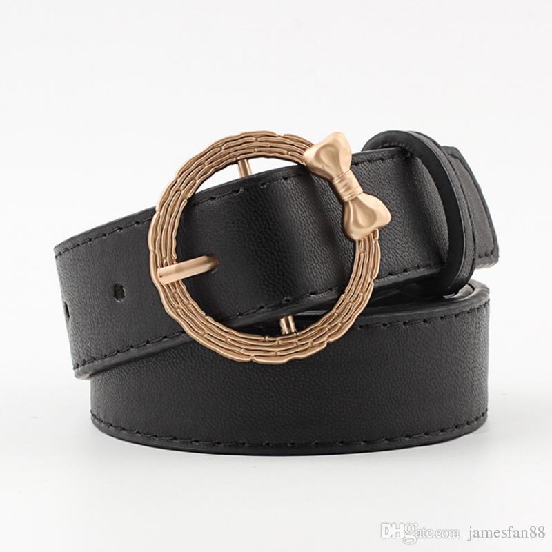 Circle Heart Metal Buckles Belt Female Fashion Leopard Pattern Belts Woman Waist Belts Waistband Apparel Accessories