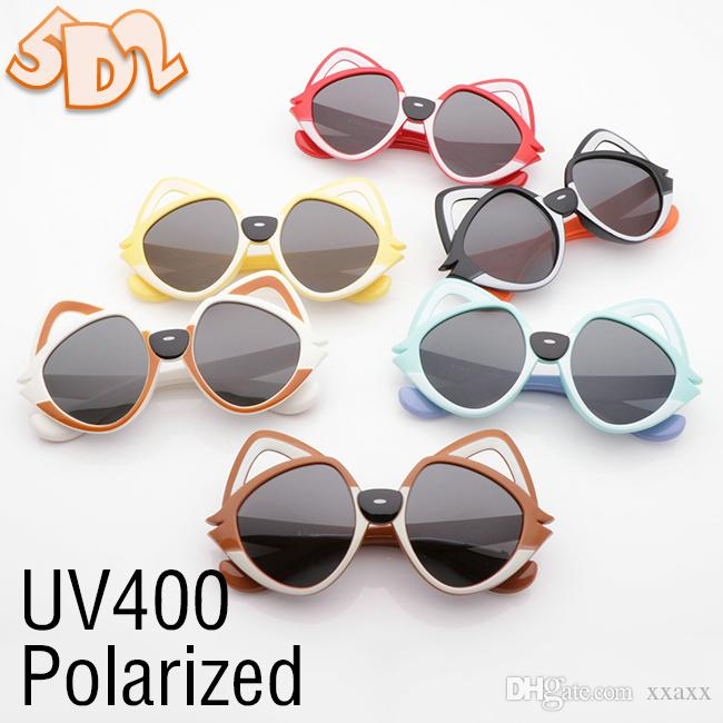 5D2 2019New Polarized Children Sunglasses Kids Beach Supplies UV Protective Eyewear Girls Boys Sunshades Glasses Fashion Accessories 1918