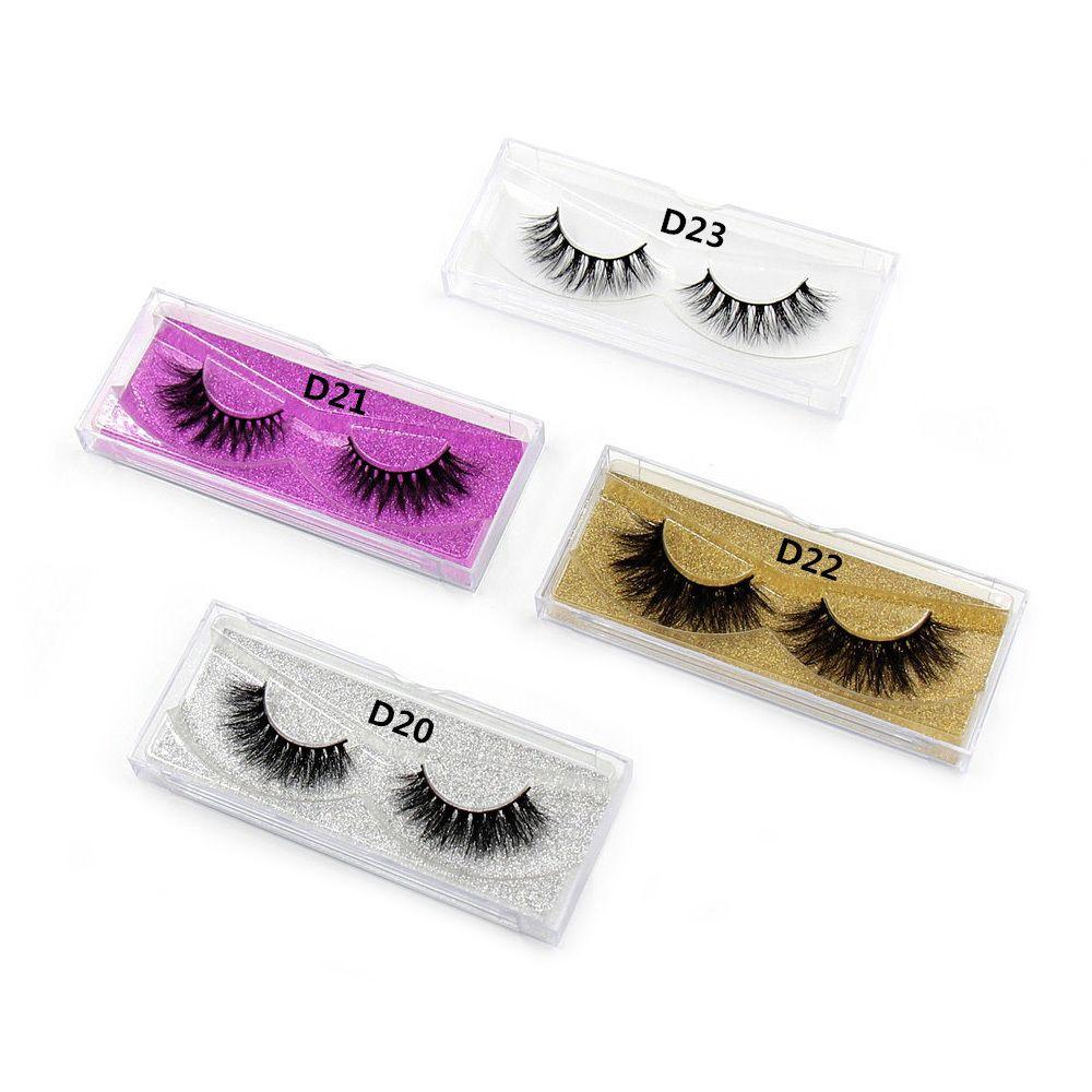 6c8bea97a01 LEHUAMAO Mink Lashes 3D Mink False Eyelashes Long Lasting Lashes Natural  Lightweight Mink Eyelashes Glitter Packaging New D19011701 Best Eyelash  Glue Eye ...