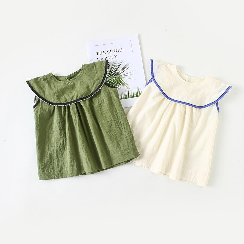 fced210763 2019 Baby Girls Short Sleeve Dresses Newborn Summer Ruffles Clothes Infant  1st Birthday Christening Dress Party Wedding Princess Robe From Yosicil08