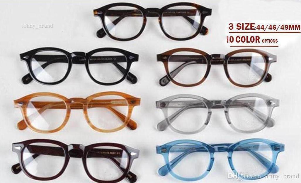 300131d4eaf9a Compre Novo Design Lemtosh Eyewear Óculos De Sol Armações De Óculos De  Qualidade Superior Rodada Sunglases Quadro Rebite 1915 S M L Tamanho De  Tfnny brand