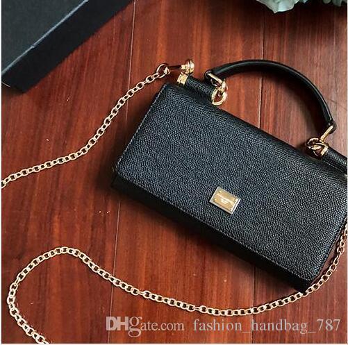 DG Designer sac à bandoulière marque bord biseauté sac à main designer sac à main d embrayage mini portefeuille à l intérieur et à l extérieur de la