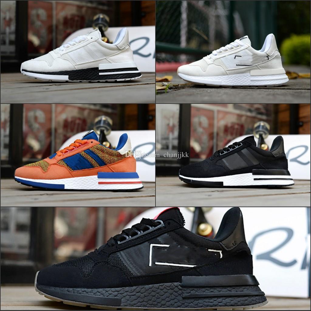 buy online e754c b8a75 Original Designers Dragon Ball ZX 500 RM Goku Shoe Classic Limited Edition  Super Light Men Women RuNNing Shoes ZX500 Designer Luxury Sneaker