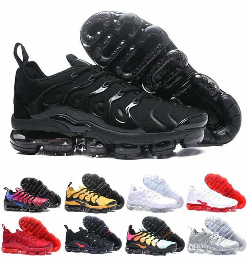 hot sale online e3a6e 00b39 Acquista Nike Air Max Airmax New TN Plus In Metallic Olive Scarpe Da Corsa  Da Uomo Tns Yellow Yellow Designer Luxury Brand Trainers Sneakers Da  Ragazzo ...