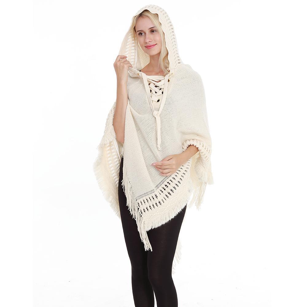 info pour bc598 fba57 tendance automne et hiver horloge de la mode casual femme pull gland de  style européen pull solide pull femme en tricot