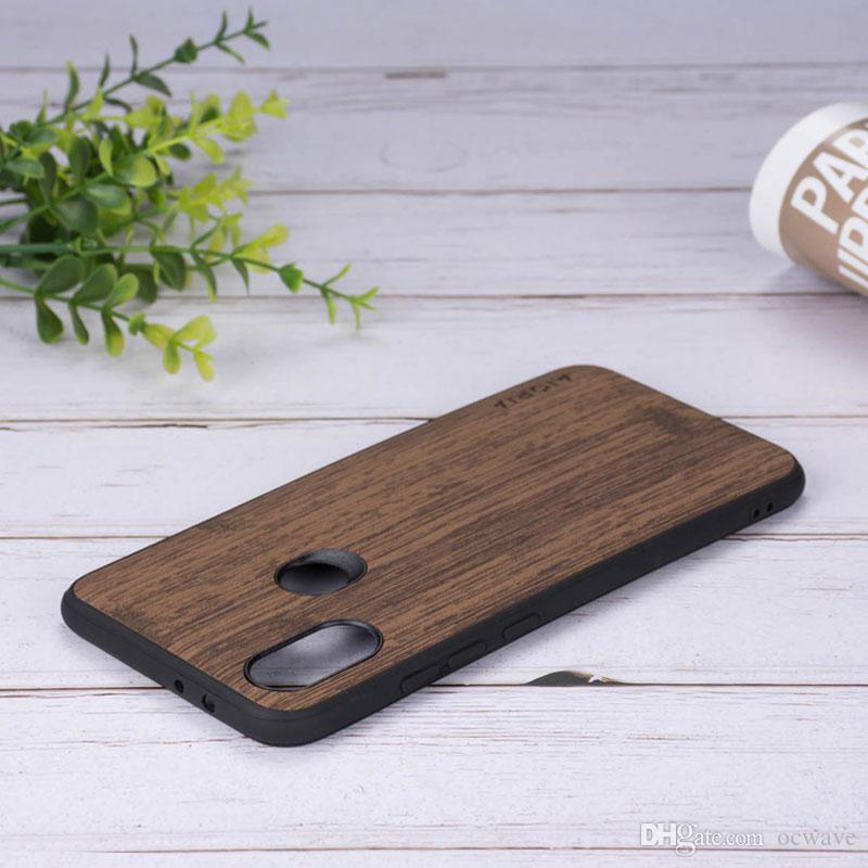 3bb607d08af Hard Case For Xiaomi Mi A1 A2 Lite 8 Se 5c Mix 2s Max Note 3 Wood Pu  Leather Covers Redmi 6 6a S2 Note 5 Pro Coque Funda Phone Cases Cell ...
