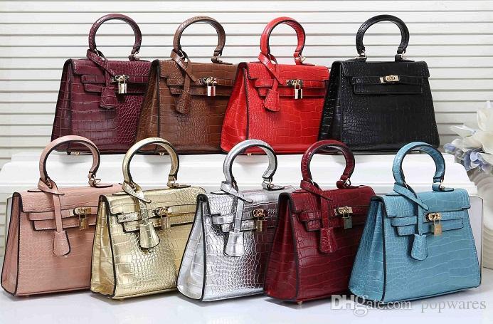 72d503a0e4f 2019 New Designer Shoulder Bags Luxury Alligator Shopper Bag Women  Messenger H Letters Shoulder Handbag Large Capacity Tote Bags
