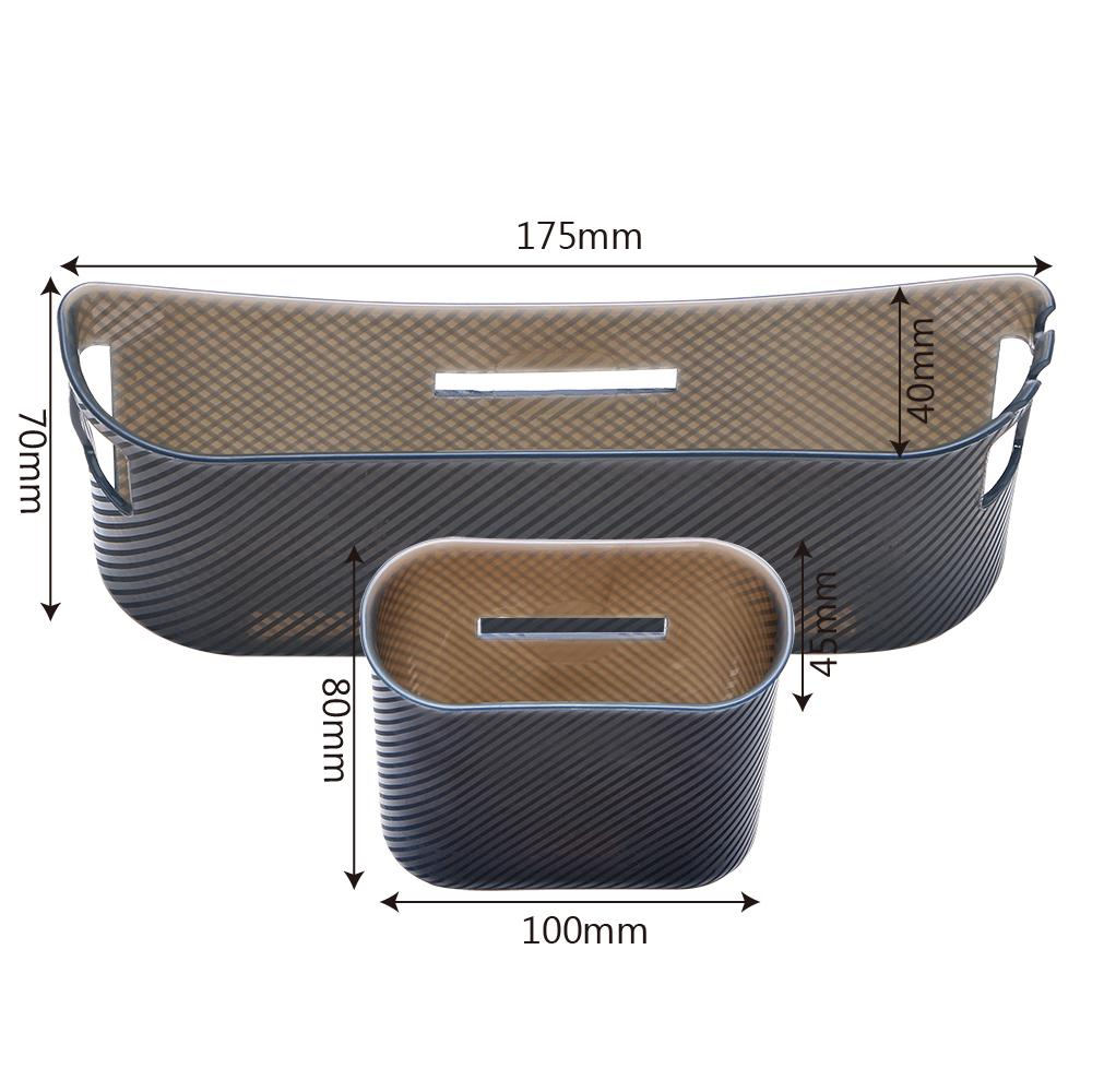 Car Storage Box Organizer Phone holder Multifunction Garbage Mesh Card Phone Charger Cradle Door Side Hanging Pocket Trash Bin