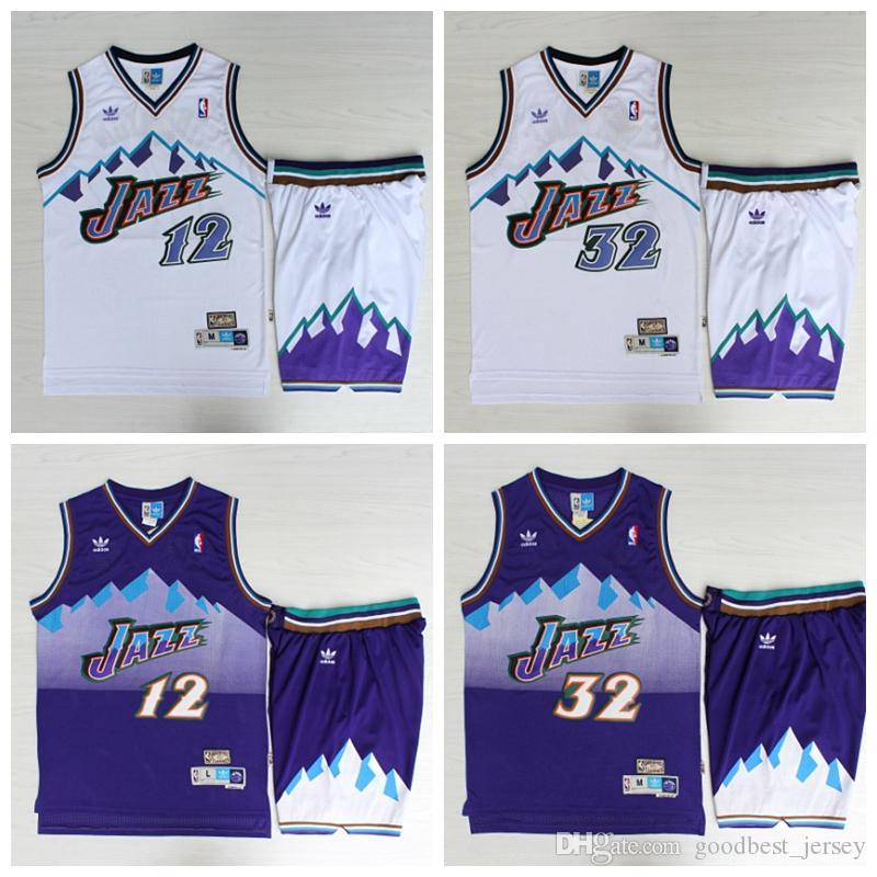 e162bb7ba62 2019 TOP 12 John Stockton 32 Karl Malone Utah Mens Jazzs Mitchell & Ness  1996 97 Swingman Basketball Jerseys From Mimifa, $45.69 | DHgate.Com