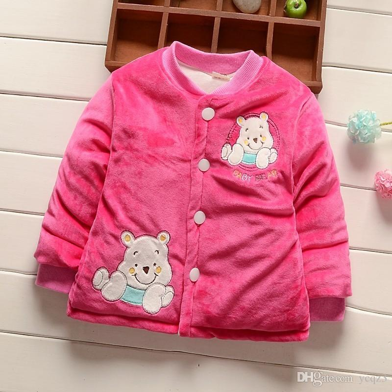 37077a582 BibiCola Toddler Baby Girls Boys Jackts Autumn And Winter Newborn ...