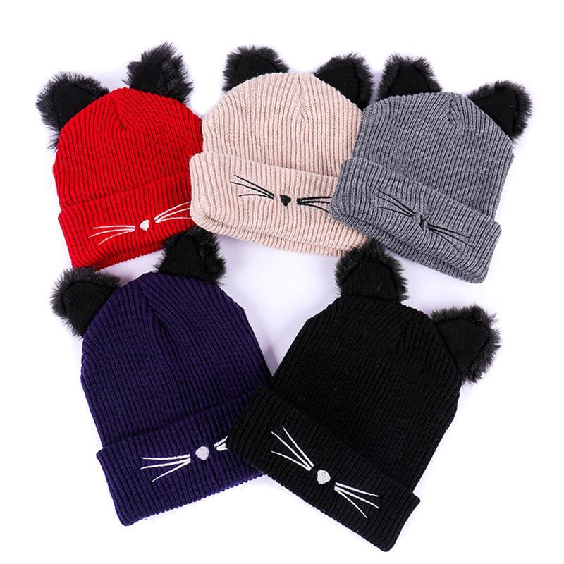 Bonnet Chat Crochet 2