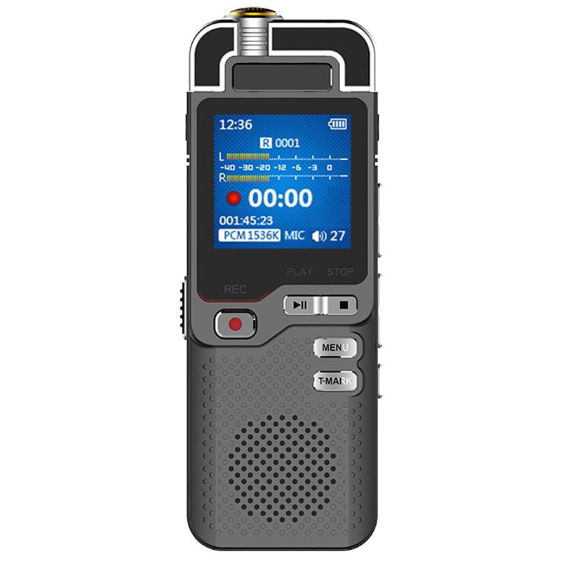Digital Voice Activated Recorder mini Dictaphone ADC noise control Audio Recorder MP3 Player KbpShmci D60 Professional 1536s