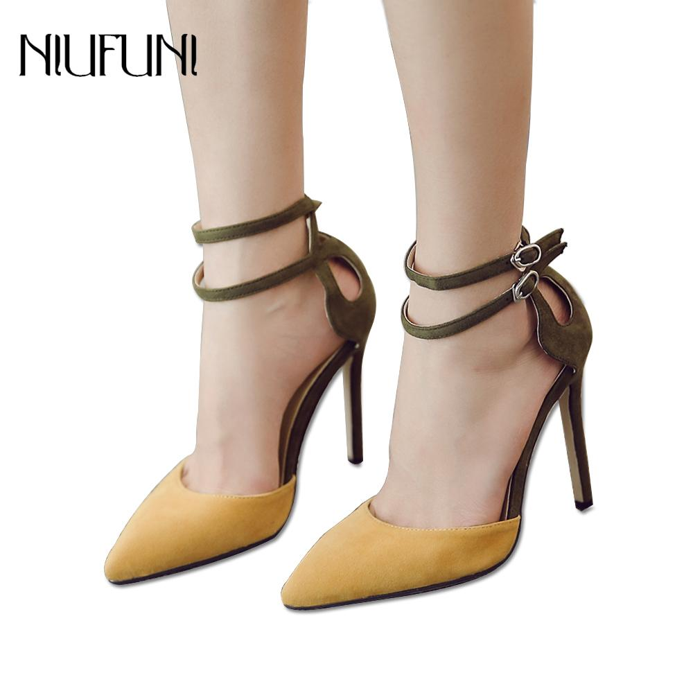 Dress Flock Women Shoes High Heels Sandals 2019 Summer Sexy Narrow Band  Buckle Strap Pumps Ankle Strap Stiletto Party Dress Shoes Mens Casual Shoes  Penny ... 8cf5149ca018