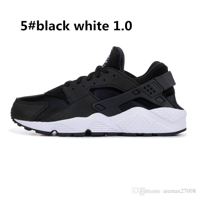 2019Huarache 4.0 1.0 Running Shoes Mens Womens triple White black red Rose Huraches Breathe Athletic Sports Sneakers trainers