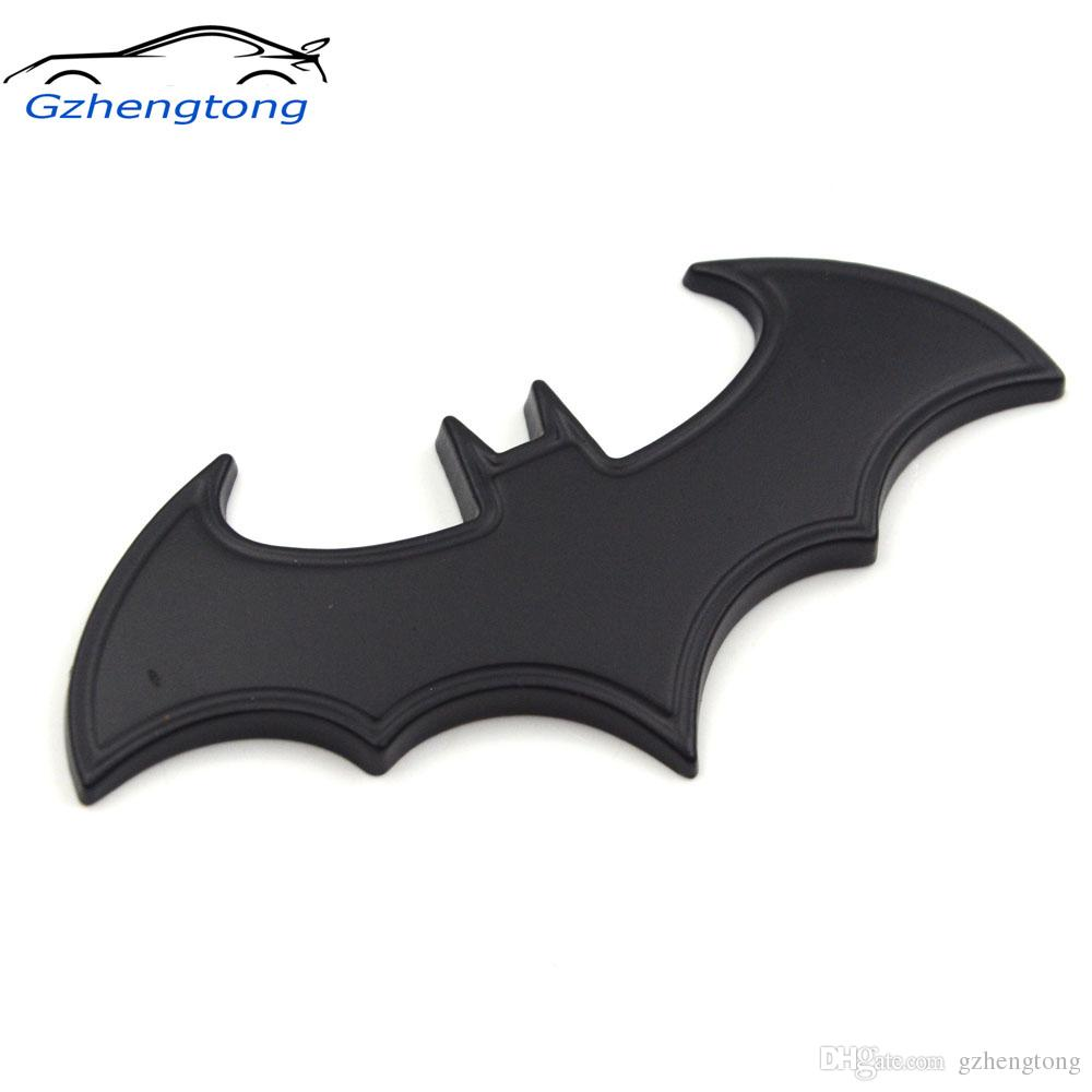 Gzhengtong car stickers metal bat logo car styling metal batman badge emblem tail decal motorcycle car accessories automobiles uk 2019 from gzhengtong