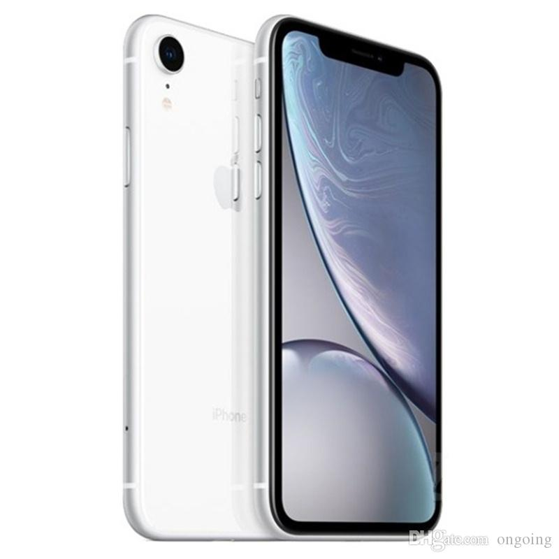 100% Original Unlocked Apple iPhone XR iphoneXR 4G LTE Mobile phone 6.1'' 12.0MP 3G RAM 64G 128G ROM Face ID Cellphone DHL
