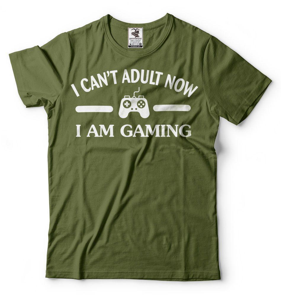 De Regalo Tee Consola Shirt Gamer Funny Serigrafía Videojuegos Manga Gaming T Camisetas Personalizada Juegos Hombre Corta yYbf7g6v