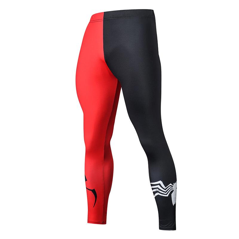 2019 Compression Pants Running Tights Men Training Pants Fitness Streetwear Leggings Men Gym Jogging Trousers Sportswear