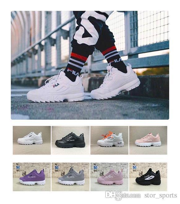 Papa Course Pour Femmes De Raf Fila Disruptor Nouveau Ii Chaussures 0 Disruptors 2018 Simons Sawtooth X Homme Ozweego Shoes Casual 2 WE9H2DI