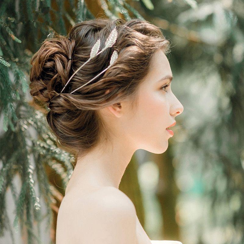 2019 Wheat Spike Tiara Bride Crown Headband Wedding Hair Accessories Hairband Diadem Jewelry Bandeau Bijoux Cheveux Coroa Wigo0856 C18122501 From Xiao0003 57 39 Dhgate Com