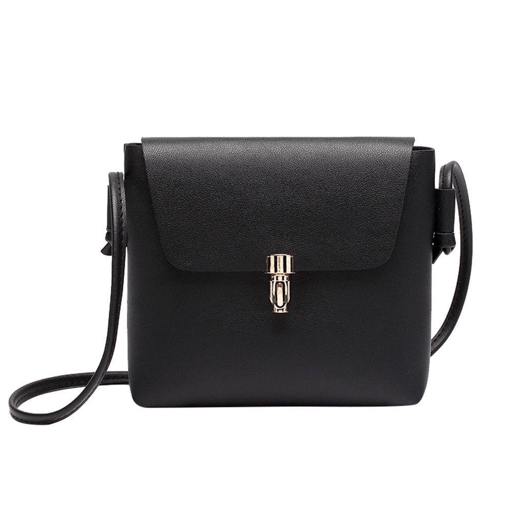 Small Leather Women Bag Fashion Cover Hasp Crossbody Bag Messenger Phone Bag  Korea Style Bolsa Feminina Bags For Lady 2018 Z Cute Purses Rosetti  Handbags ... 025c248460ce9