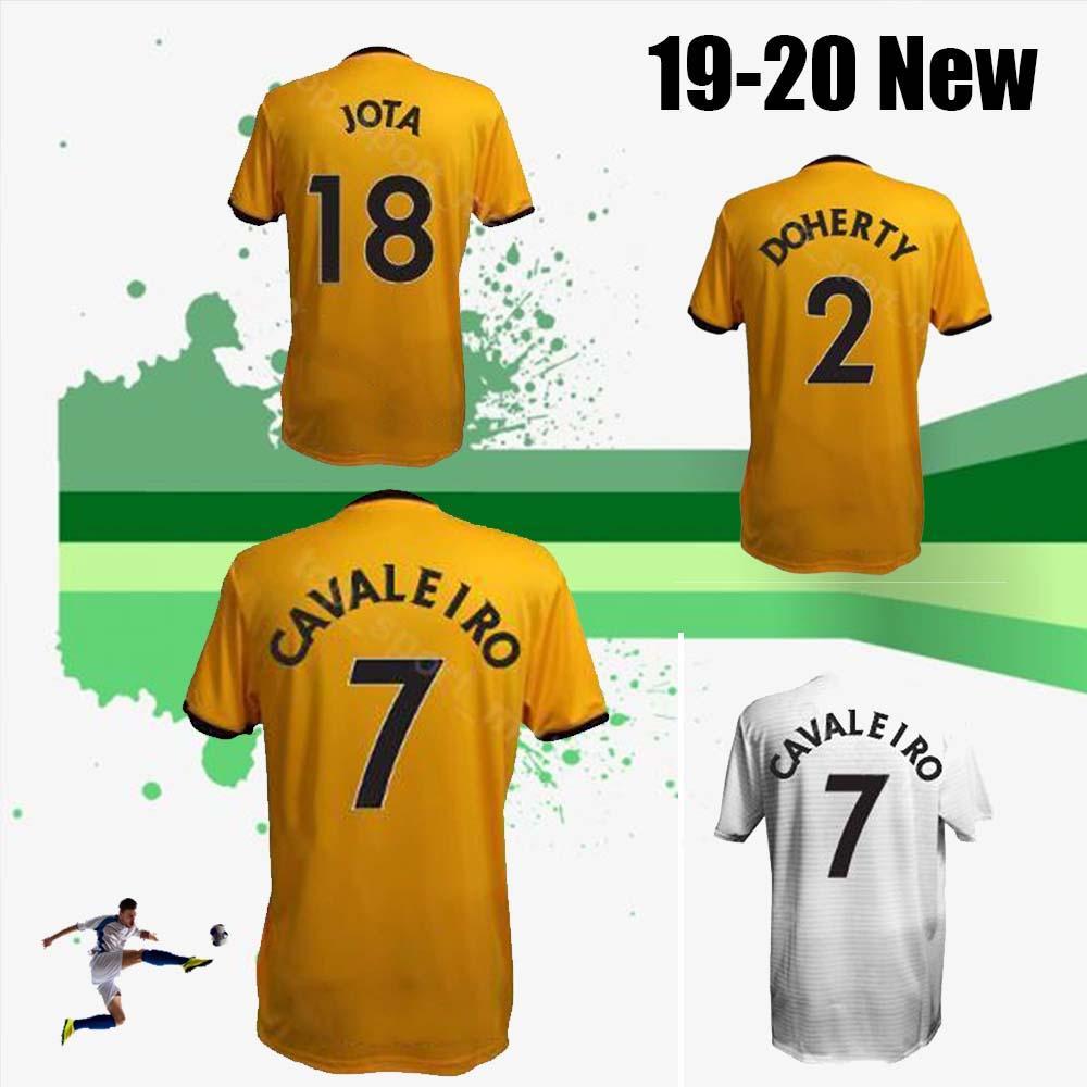 792ea5449a0 2019 New 19 Wolverhampton Wanderers Soccer 9 Raul Jimenez Jersey 7 Ivan  Cavaleiro 2 Matt Doherty 11 Rui Patricio Goalkeeper Football Shirt From  Xhaka