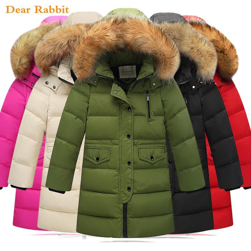 b70b5737b 2018 New Children Winter Duck Down Jackets Girls Clothing Thickening ...