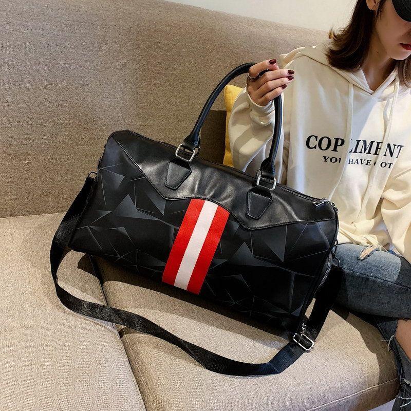 Travel Bag New Large-capacity Hand Luggage Bag Oxford Cloth Waterproof Fitness  Bag Travel Bag Luggage Bag Fitness Bag Online with  47.91 Piece on ... f82f0b86d0fe5