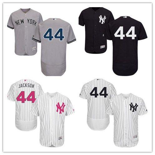2019 2018 Can New York Yankees Jerseys  44 Reggie Jackson Jerseys  Men WOMEN YOUTH Men S Baseball Jersey Majestic Stitched Professional  Sportswear From ... c2d4736ea01