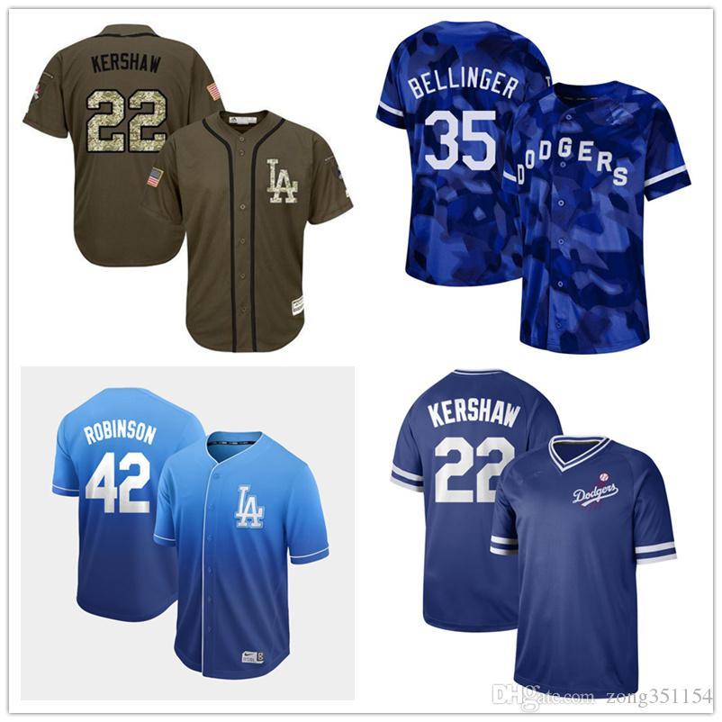 watch fbb83 09075 Custom Dodgers Women Youth Men Jersey Clayton Kershaw Cody Bellinger Max  Muncy Jackie Robinson Julio Urias Hyun-Jin Ryu Justin Turner