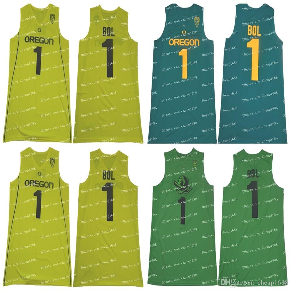 b97706a2860 2019 NCAA Oregon Ducks #1 Bol Bol Apple Dark Green Yellow Jersey Best  Quality Stitched College Basketball From Cheap1688, $16.35 | DHgate.Com